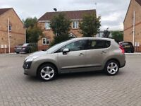 2011 PEUGEOT 3008 AUTOMATIC 1.6 DIESEL, ONE PREVIOUS OWNER, SERVICE HISTORY