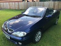 Renault Megan convertible ideal for summer fun long mot