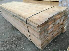 Unbanded - Untreated Scaffold Boards (38mm x 225mm) 3.9mtr Lengths
