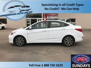 2017 Hyundai Accent LOW KM (11252 KM'S) ROOF ALLOYS LOW PRICE, C