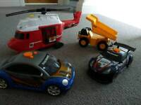 Helicopter and car bundle cost £80 new