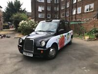 2006 56 Reg LTI BLACK CAB LONDON TAXI TX4 2 OWNERS 185K Miles Only PLATED FEB 2019