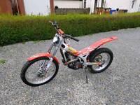 Beta 250 cc 250cc rev 3 rev3 trials bike