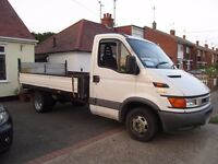 IVECO DAILY FLAT BED TRUCK