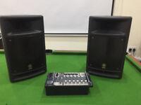 Yamaha Stagepas 300 PA Speakers