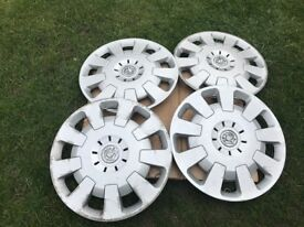 "4 x 15"" GENUINE Vauxhall Corsa Combo Astra Van wheel trims hubcap cover"