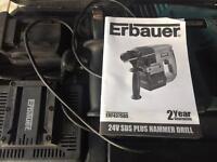 ERBAUER 24v hammer drill