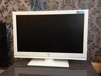 "Bush HD LCD TV 22"" Slim with built in DVD and Remote"