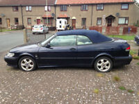 Saab convertible, spares or repair