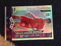 Silver limited edition match attack Liverpool team Philippe coutinho