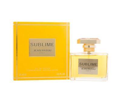 Jean Patou Sublime Eau de Parfum 75ml Spray Women's - NEW. EDP - For Her