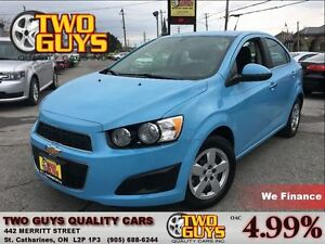 2014 Chevrolet Sonic LT MYLINK | REMOTE START | ALLOYS |