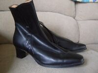 Italian Leather Ankle Boots