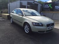 2005 VOLVO S40 2.0 TDI-LADY OWNER LAST 7 YEARS-LONG MOT-GOOD DRIVING CAR-£1595 ONO