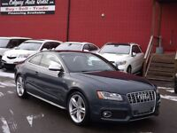 2009 Audi S5 4.2L (AWD) NAVIGATION/B.CAM/LEATHER/ROOF