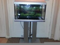 ELITE 60L FISH TANK AND STAND (sell or swap)