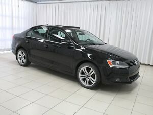 "2014 Volkswagen Jetta Highline TDI Diesel! Sunroof! 17"""" Alloys,"