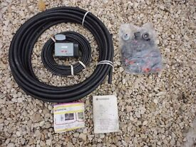 Gardena Water Irrigation System with Electric Timer for Automatic Watering Complete and Unused