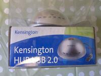 USB 2.0 HUB - KENSINGTON 7 PORT - NEW, IN BOX