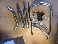 Harley Davidson 883R complete exhaust system