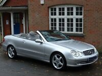 Mercedes-Benz CLK 3.2 CLK320 Avantgarde 2dr Convertible - NEW MOT - PRIVATE PLATE INCLUDED