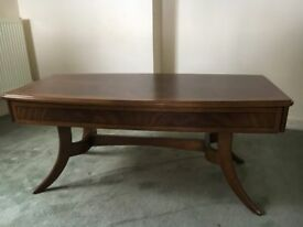 Mahogany Veneer Coffee Table