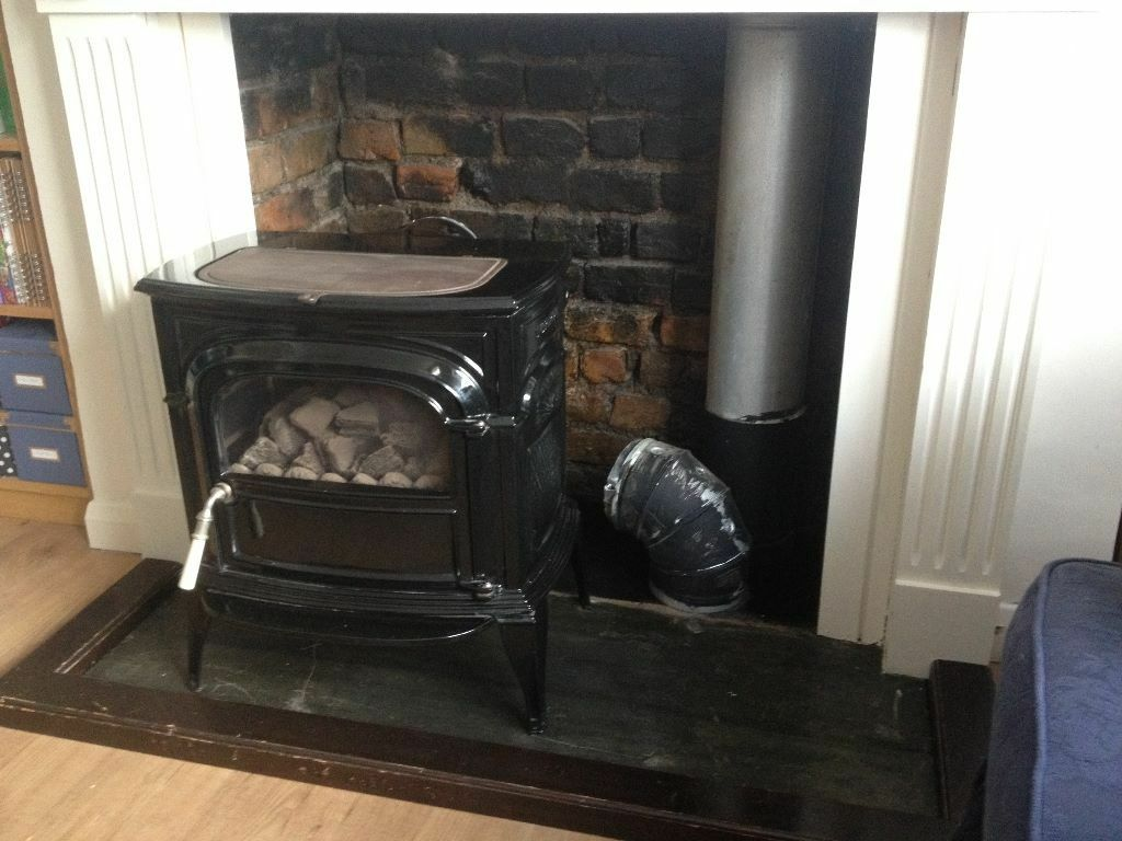 black gas stove vermont castings intrepid 2 for sale in