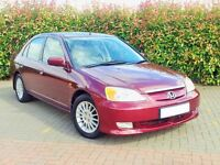 Honda Civic IMA 1.3 HYBRID / Electric SE Executive 2003, 102,000 Miles, 1 Owner, £30 a Year Tax
