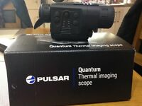 Pulsar Quantum 19Thermal imaging scope for sale. Bought 3 months ago. Genuine reason for sale.