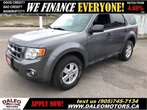 2012 Ford Escape XLT   LEATHER   3.0L 6CYL  BLUETOOTH