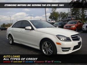 2014 Mercedes-Benz C-Class C-250 / LEATHER / SUN-ROOF