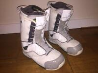 Salomon F-24 Snowboard Boots Size 8