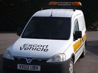 for sale this vauxhall combo escort abnormal load vehicle 1700 di 2002