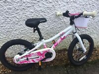 "Saracen Bella Girls Bike - almost new - 16"" wheels, lightweight and high quality bike"