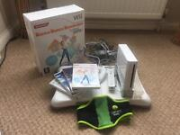 Wii Fit with board and games and dance mat included