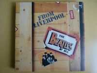 Beatles from Liverpool box set 8 LPs excellent condition