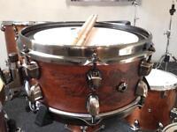 "Price Drop - Mapex Black Panther ""The Warbird"" Chris Adler Signature Snare Drum (12""x5.5"")"