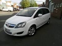 2012 Vauxhall Zafira 1.6 petrol, low mileage, 7 seater, BARGAIN
