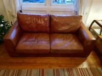 Free comfortable leather sofa