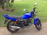 Sinnis Max II 125cc Learner Legal Commuter, Low mileage/Good condition