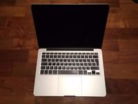 "13"" Apple MacBook Pro Retina 2.4Ghz i5 8GB 500GB SSD Logic Pro X Cubase Ableton FL Studio 12 Reason"