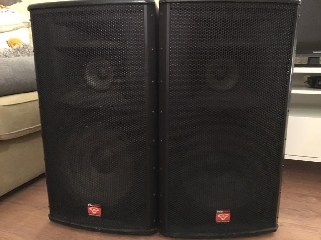 Cerwin Vega Pro Stax Psx 153 Speakers In Shirley West