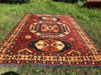 Large Handmade wool Rug