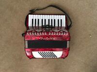 Galotta 48-Bass Piano Accordion for sale