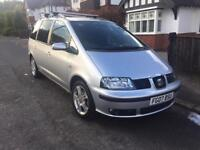 Seat Alhambra 2.0D 83k, 2 Owner Stylance 7 Seater 140bhp