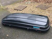 Kamei Husky Large Roofbox - Good Condition