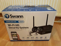 Swann NVW-485 HD-1080p 1TB WiFi CCTV Kit with 2x2.1MP Wifi IP Security Cameras
