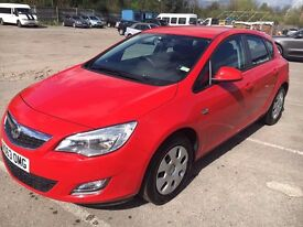 2013 Vauxhall Astra 1.4 Exclusiv 85 - Full service history.