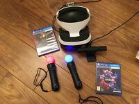Playstation VR bundle for sale