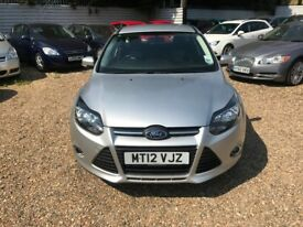FORD FOCUS 1.6 Ti-VCT Zetec 5dr (silver) 2012